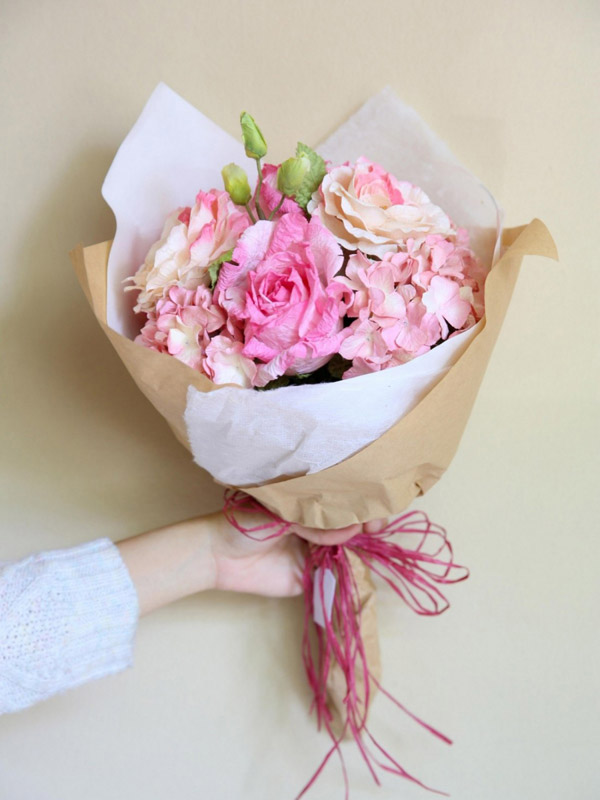 FLOWERS BOUQUET – PINK